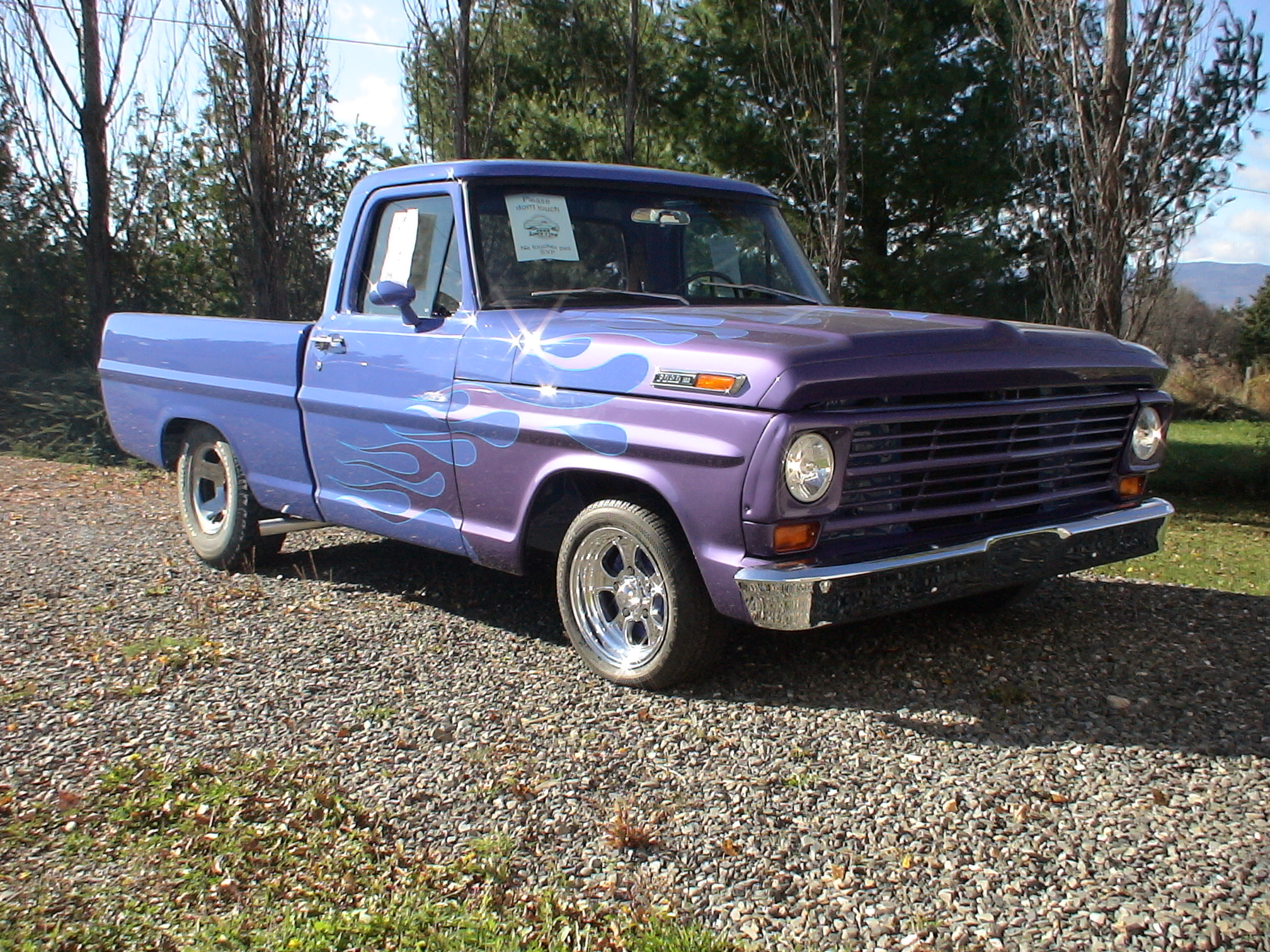 Uncategorized 1955 Ford F100 Hot Rod 1969